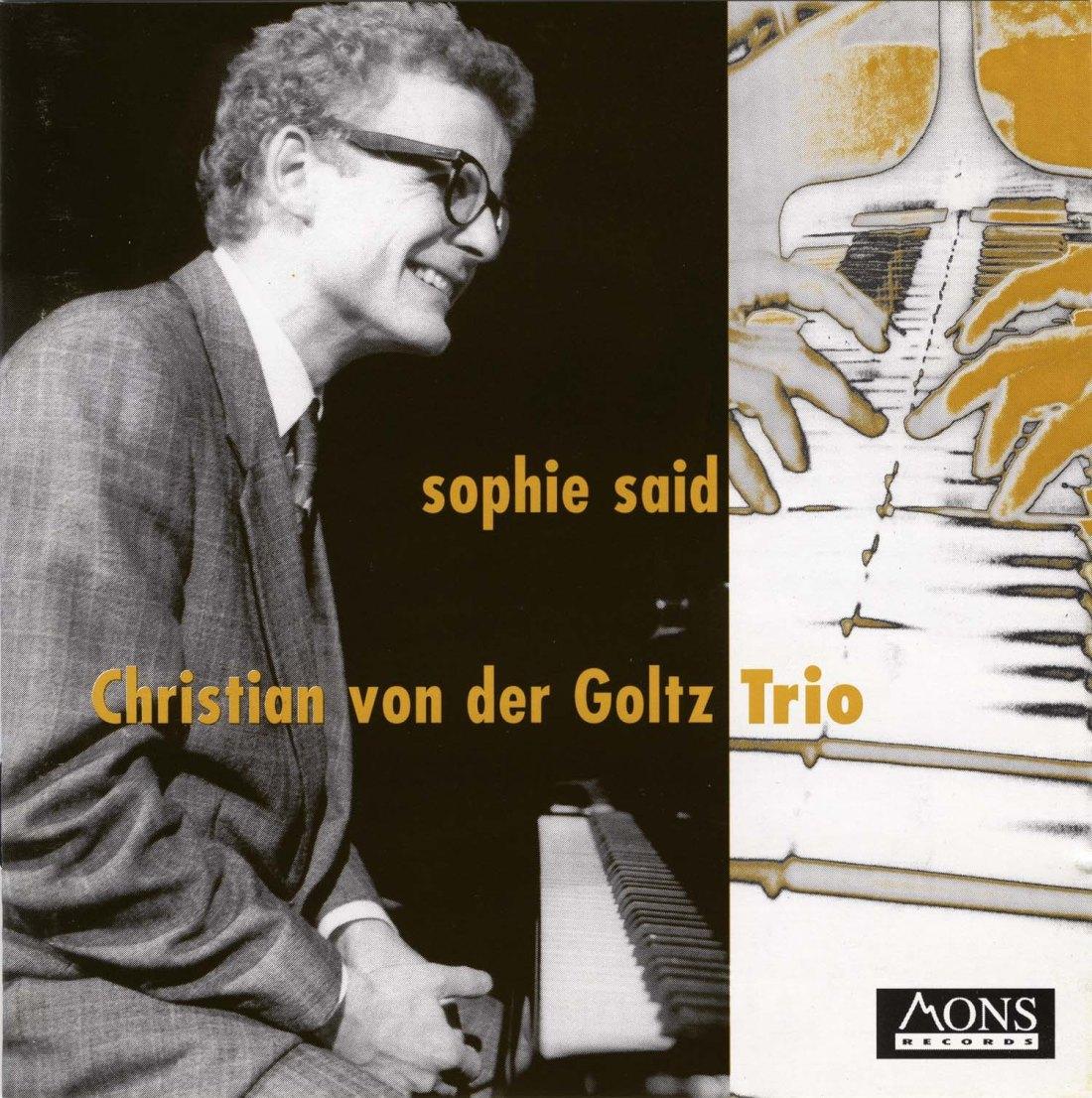 SOPHIE SAID CD